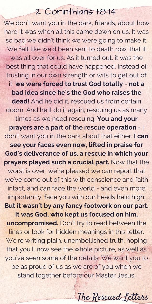2 Corinthians 1-8-14|630x1260|therescuedletters.com