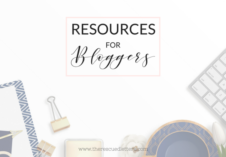 Resources for Bloggers - FB - 1200x628 - www.therescuedletters.com