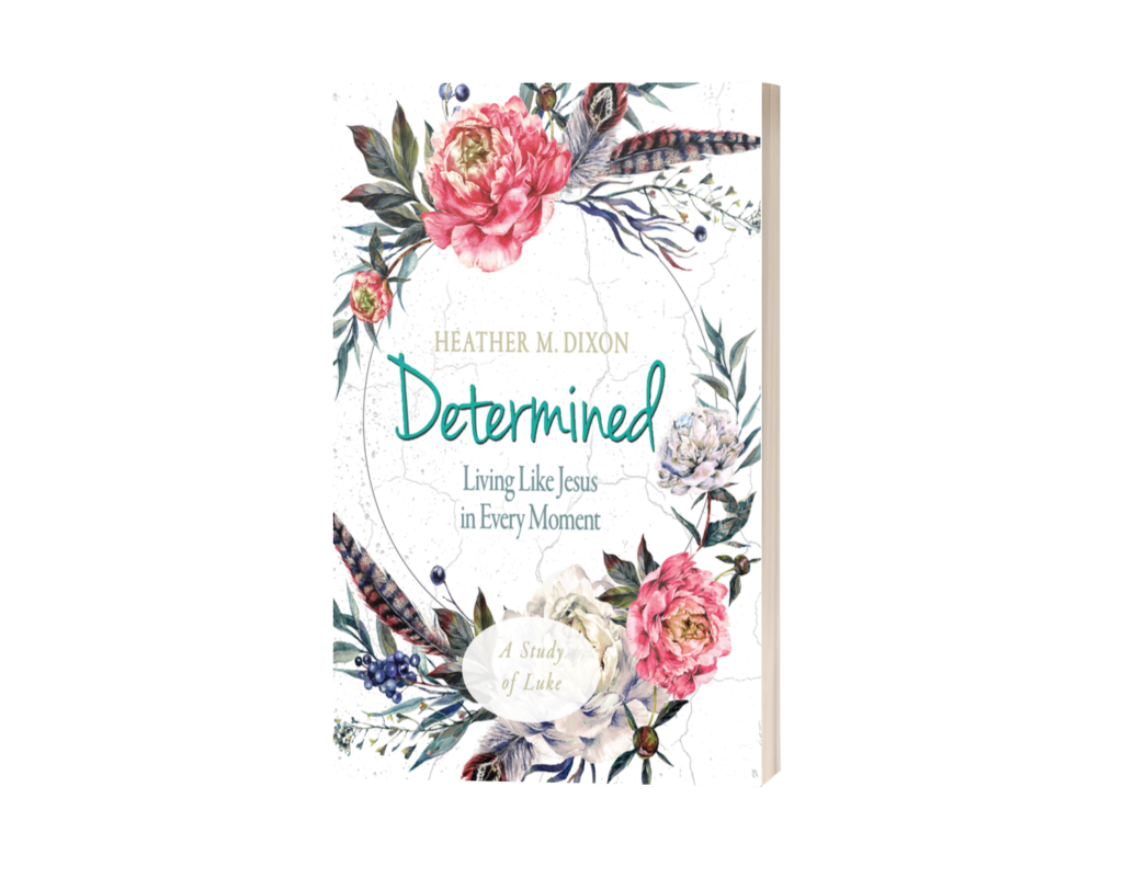 Determined: Living Like Jesus in Every Moment, a six-week Bible study on Luke by Heather M. Dixon